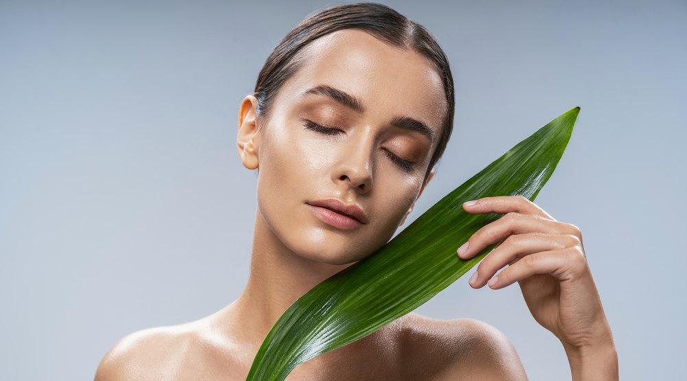 acne skin, dry skin, oily skin